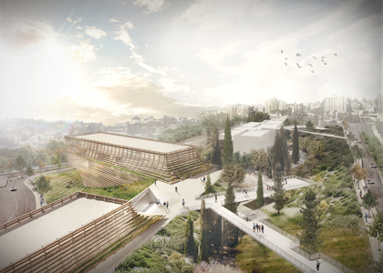 Architectural competition   Hebrew Language Academy museum , Jerusalem   In collaboration with studio Sabra