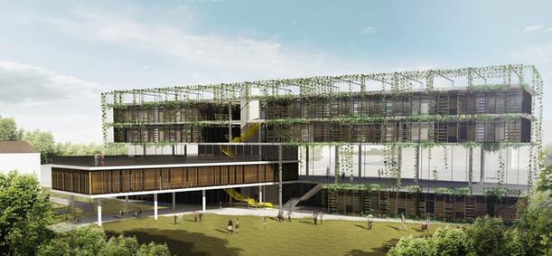 The tree house Community center   Tel Aviv   Kisselov-Kaye Architects