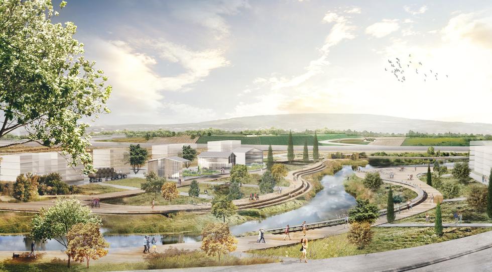 Urban Planning   Baqa al-Jarbia  Arc Mirel Shelach