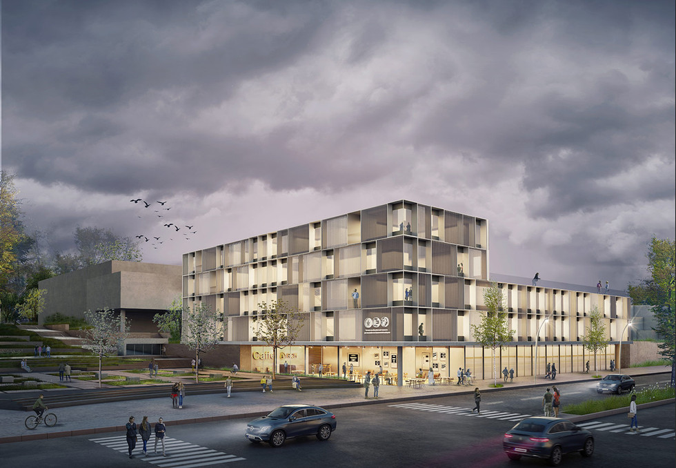 Architectural competition   TLV  School of Architecture  Lothan Architects