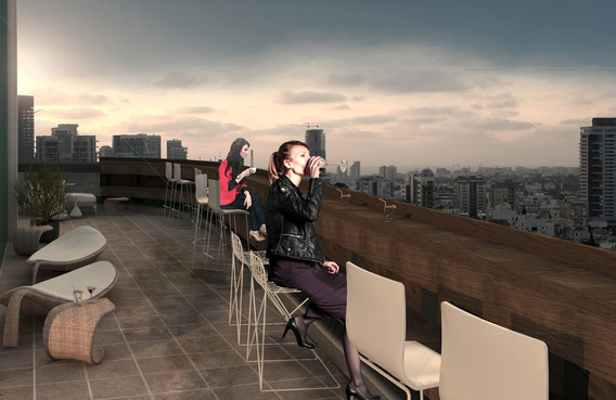 Luxury penthouses    Tel Aviv