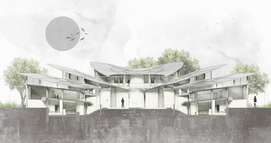 Conceptual section - Alternative housing |  Bat Yam