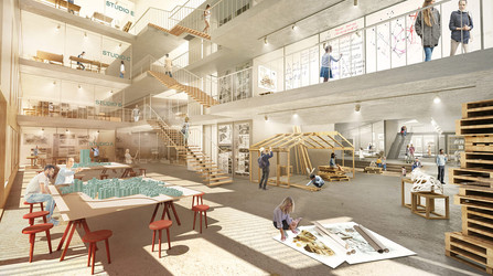 Architectural competition TLV  School of Architecture |Lothan Architects