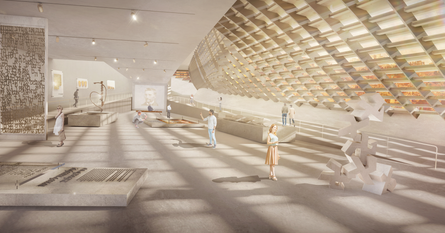 Architectural competition | Hebrew Language Academy museum , Jerusalem | In collaboration with studio Sabra