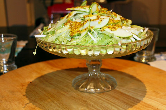 Apple, Celeriac & Iceberg Salad Recipe
