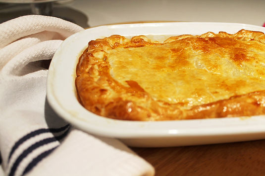 Chicken, Leek & Mustard Pie Recipe