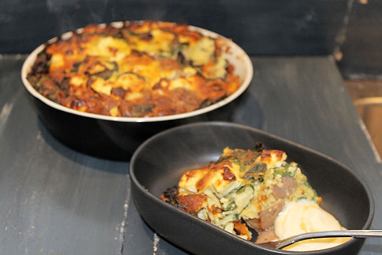 Leftovers Frittata Recipe