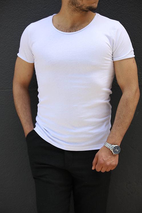 Yeni Sezon Erkek  Beyaz Tişört