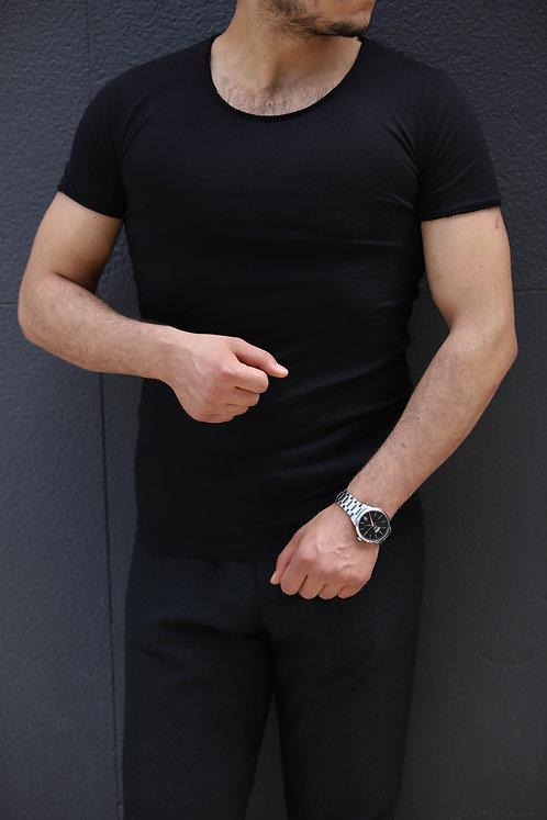 Yeni Sezon Erkek  Siyah Tişört