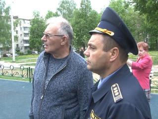Общественная палата провела рейд по детским площадкам совместно с Госадмтехнадзором