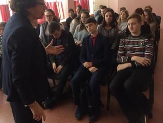 Представитель ОП ВМР приняла участие в уроке экологии
