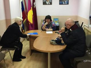 ОП Воскресенского района провела очередной прием граждан