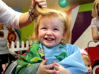 Does your child have a fear, act out or dislike getting their haircut?