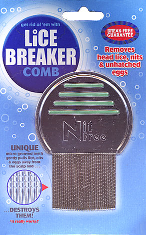 Lice Breaker Comb