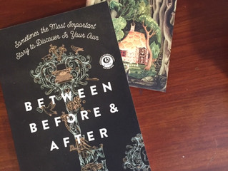 Paperback Between Before and After!