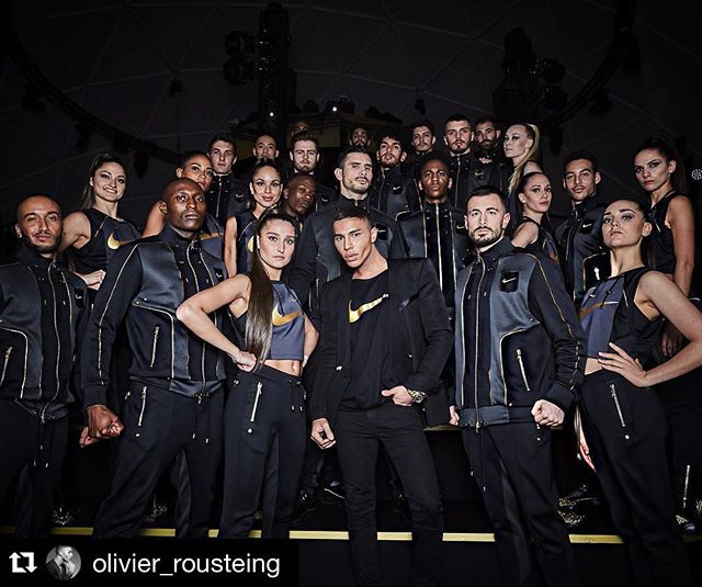 - Nike - @olivier_rousteing #goodteam #i