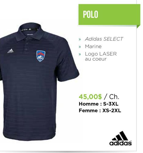 polo adidas homme 3xl