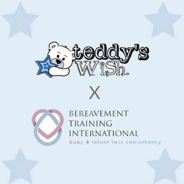 Teddy's Wish x Bereavement Training International