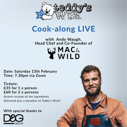 Teddy's Wish Cook-along LIVE