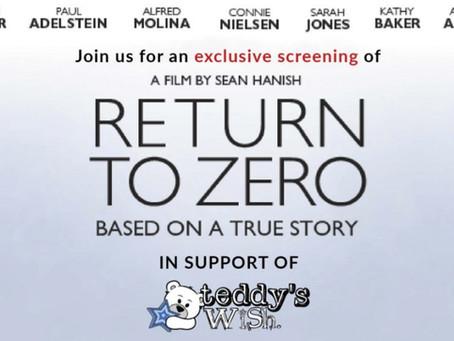 Return To Zero - Film Screening