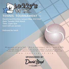 Teddy's Wish Tennis Tournament