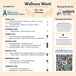 Wellness Week in support of Teddy's Wish