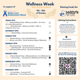 Wellness Week in support of Teddy's Wish