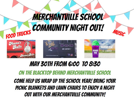 Community Night Out and Science Expo Thursday, May 30th!