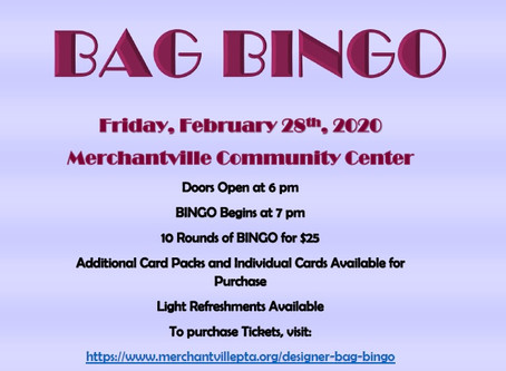 Purchase your BINGO Tickets Now!