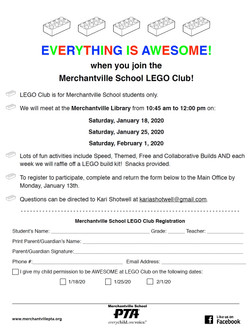 LEGO Club is Back!!!