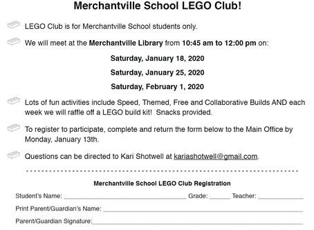 LEGO Club is Back!!!