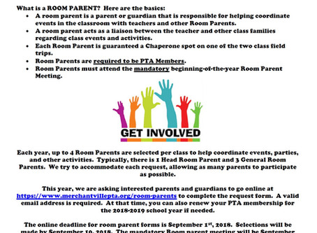 Want to Be a Room Parent?
