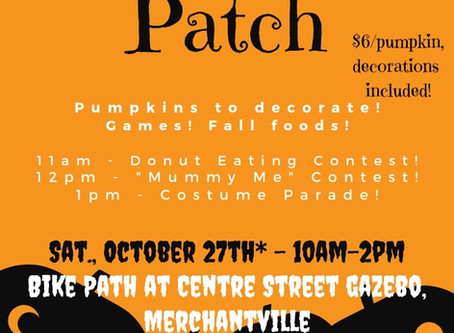 Join us at the 2nd Annual Pumpkin Patch!
