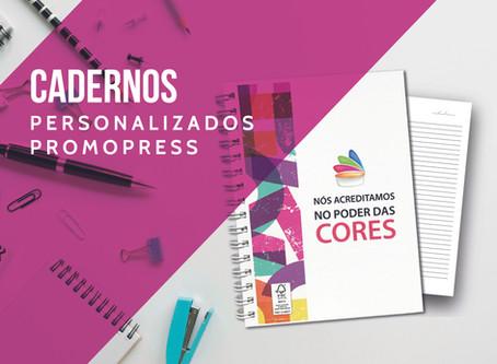 Cadernos Personalizados Promopress