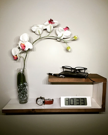 """21"""" Two-Tier Floating Nightstand"""