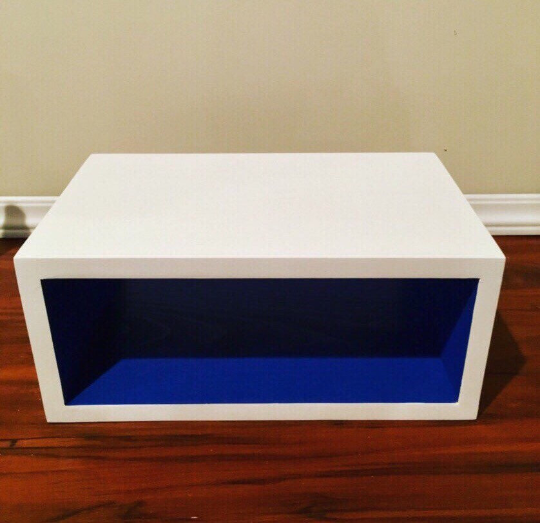 Floating Box Nightstand