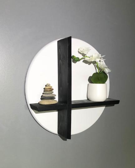 Modern Round Shelf