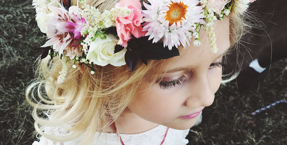 Flower Crowns   Made to Order