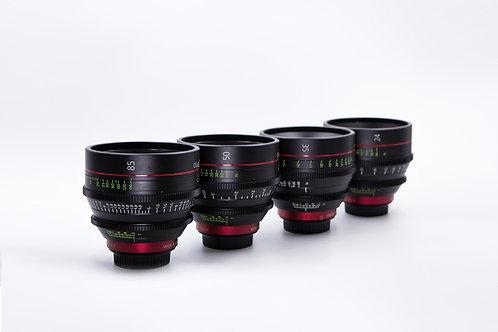 Canon CN-E Cine Prime Set