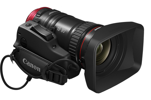 Canon CN-E 18-80MM T4.4 Zoom