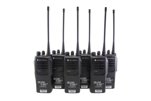 6 x Motorola GP340 UHF Radio Kit