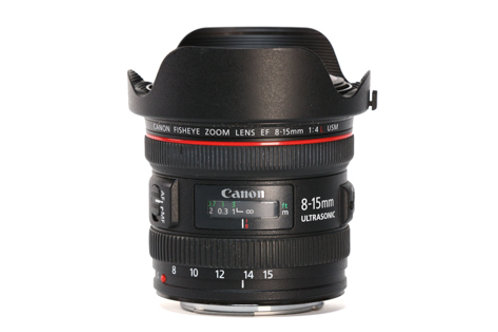 Canon 8-15mm F4 Fisheye