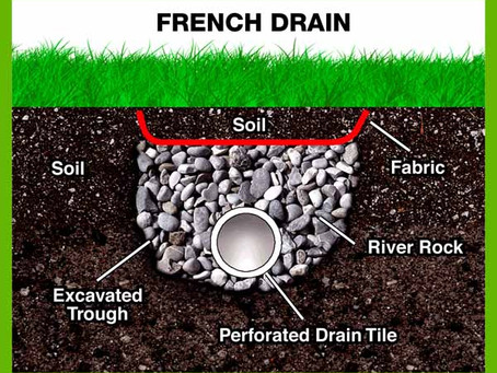 FRENCH DRAINS: WHY YOU NEED THEM