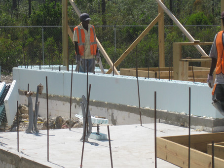 Using ICF (Insulated Concrete Forms) in The Bahamas