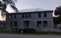 ICF House with Metal Roof