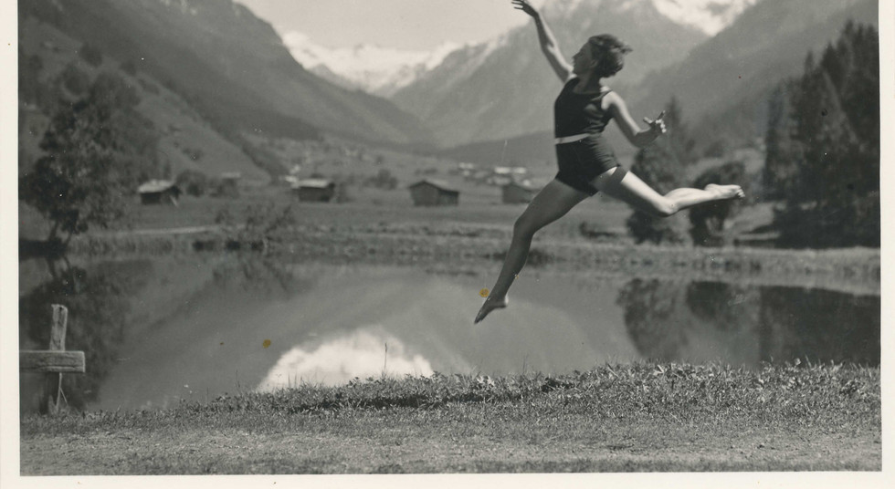 Strandbad Klosters Sommer 1940