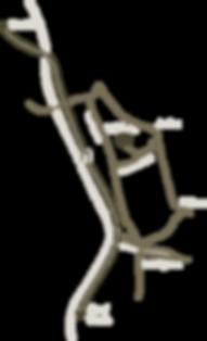 7307 Jenins Anfahrtsplan Karte