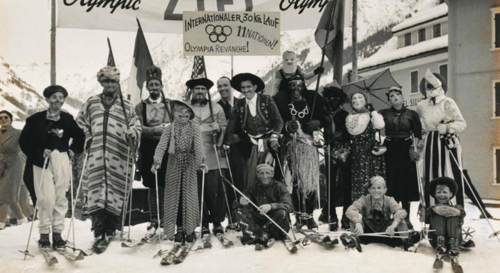 Klosters Grümpelrennen Selfranga 1948