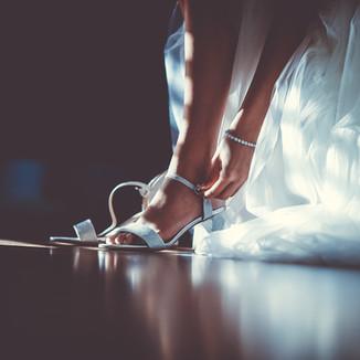 כלה בהתארגנות לחתונה וניל צילום