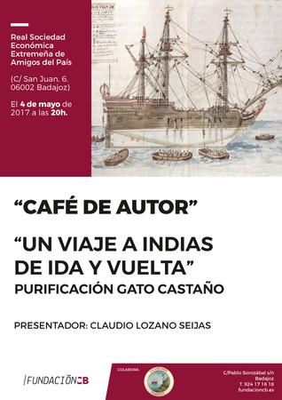 """Presentación de libro """"Un viaje a Indias de ida y vuelta"""" de Purificación Gato Castaño, 04/05/2017 2"""